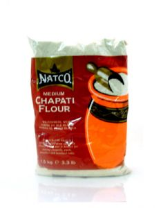 Natco Chapati Flour (Medium Chapatti Atta) | Buy Online at The Asian Cookshop